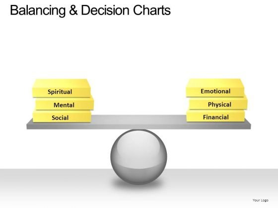 PowerPoint Slide Business Balancing Decision Ppt Theme