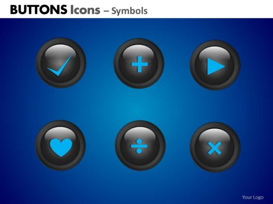 PowerPoint Slide Business Competition Buttons Icons Ppt Process