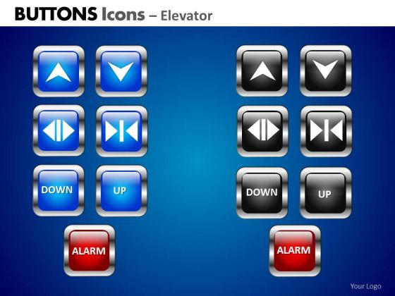PowerPoint Slide Business Education Buttons Icons Ppt Process