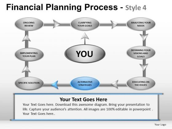 PowerPoint Slide Business Growth Financial Planning Process Ppt Designs