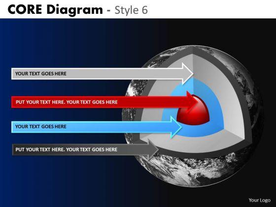 PowerPoint Slide Business Success Targets Core Diagram Ppt Design