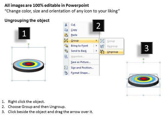 powerpoint_slide_business_success_targets_core_diagram_ppt_process_2