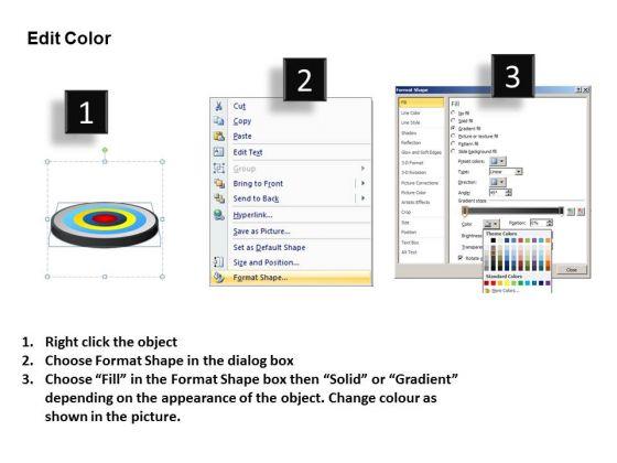 powerpoint_slide_business_success_targets_core_diagram_ppt_process_3