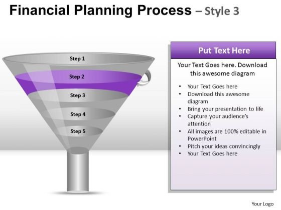 PowerPoint Slide Business Teamwork Financial Planning Process Ppt Templates
