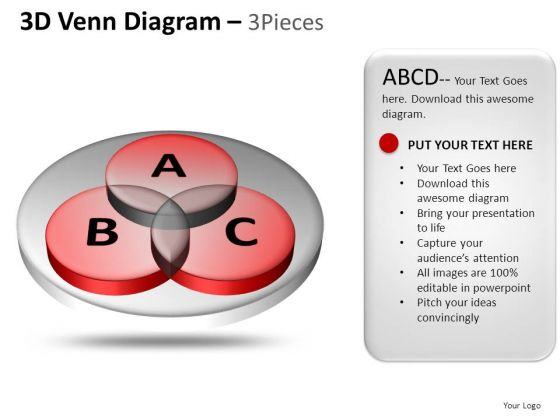 PowerPoint Slide Business Venn Diagram Ppt Theme
