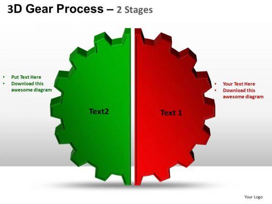 PowerPoint Slide Chart Gear Process Ppt Theme
