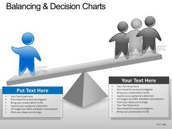 PowerPoint Slide Company Balancing Decision Ppt Presentation