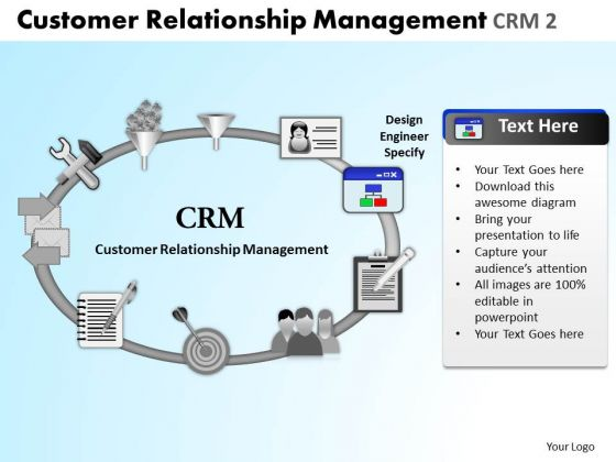 PowerPoint Slide Company Relationship Management Ppt Process