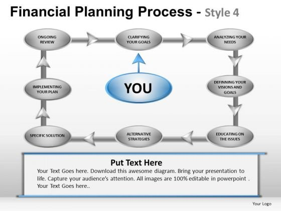 PowerPoint Slide Corporate Leadership Financial Planning Process Ppt Theme