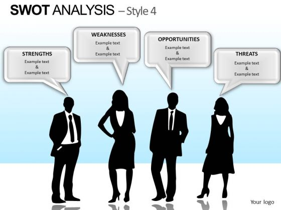 PowerPoint Slide Corporate Teamwork Swot Analysis Ppt Presentation