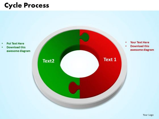 PowerPoint Slide Cycle Process Company Ppt Template