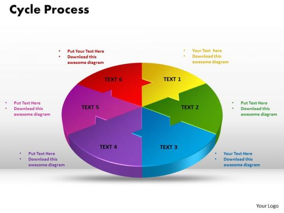 PowerPoint Slide Cycle Process Leadership Ppt Design