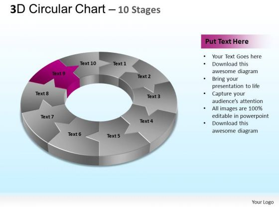 PowerPoint Slide Designs Business Circular Ppt Themes