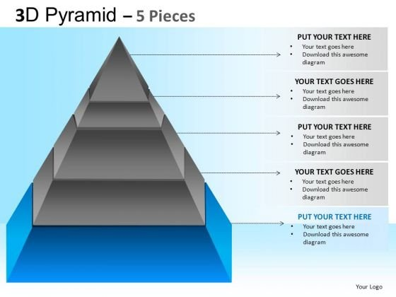 PowerPoint Slide Designs Business Success Pyramid Ppt Backgrounds