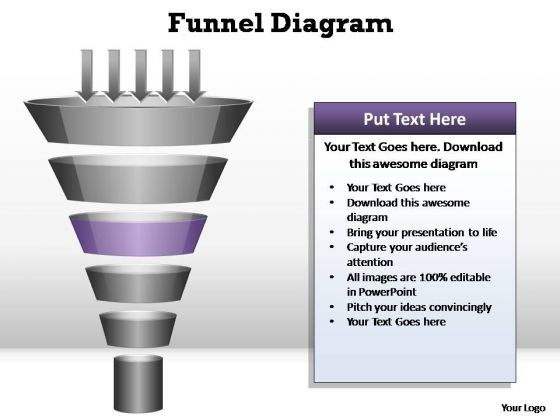 PowerPoint Slide Designs Company Funnel Diagram Ppt Design Slides