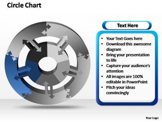 PowerPoint Slide Designs Diagram Circle Chart Ppt Slide