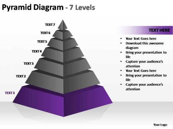 PowerPoint Slide Designs Diagram Cone Diagram Ppt Theme
