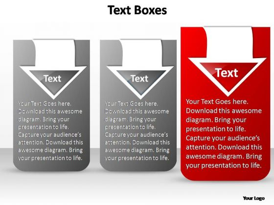 PowerPoint Slide Designs Diagram Three Stylish Ppt Design