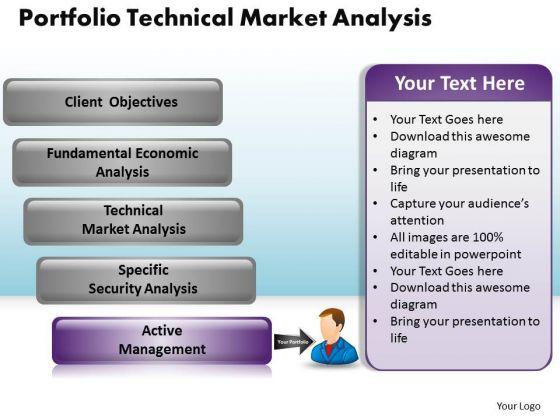 PowerPoint Slide Designs Download Portfolio Technical Market Ppt Backgrounds