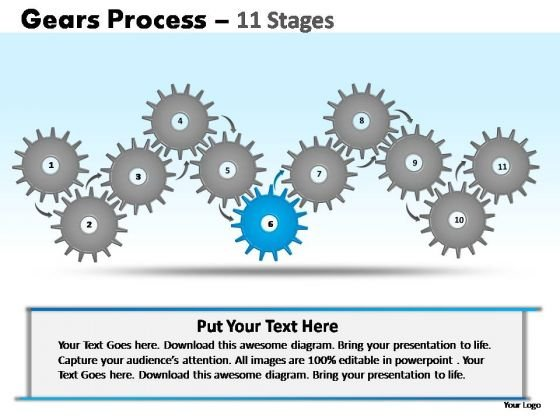 PowerPoint Slide Designs Education Gears Ppt Presentation