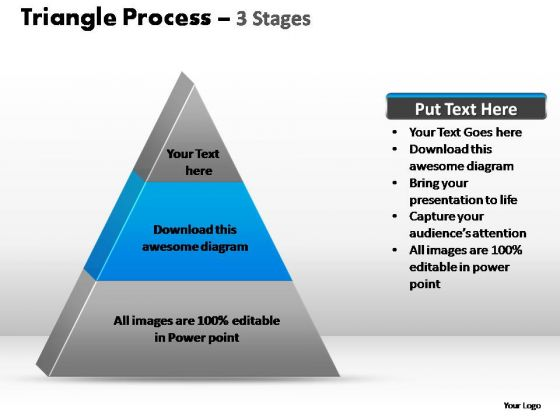 PowerPoint Slide Designs Education Triangle Process Ppt Themes