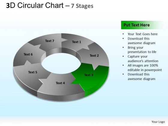 PowerPoint Slide Designs Global Circular Chart Ppt Presentation