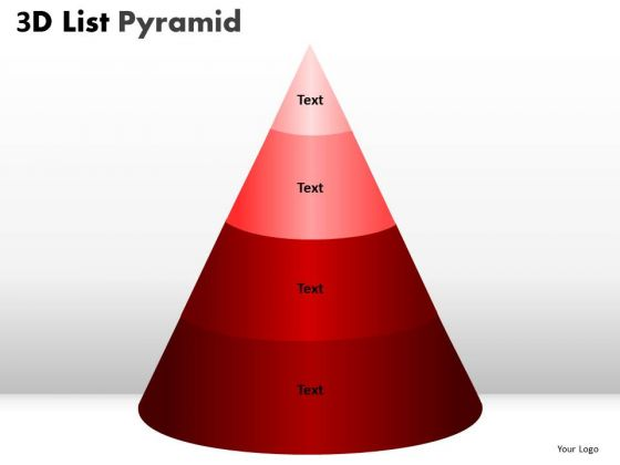 PowerPoint Slide Designs Graphic Bulleted List Pyramid Ppt Themes