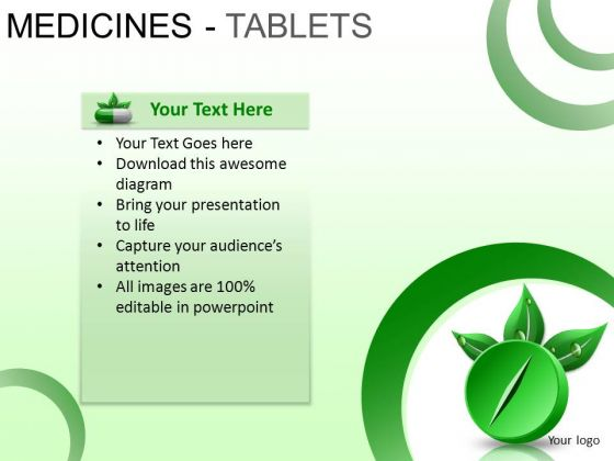 PowerPoint Slide Designs Graphic Medicine Tablets Ppt Designs