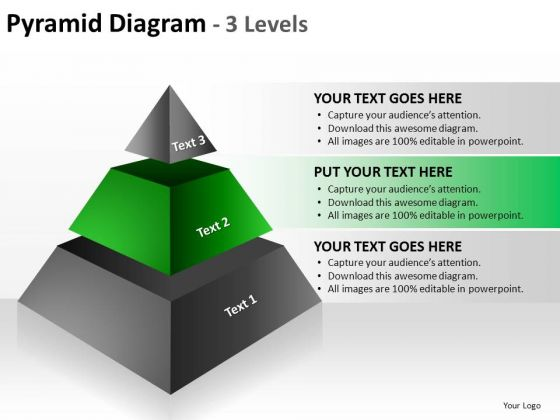 PowerPoint Slide Designs Growth Pyramid Diagram Ppt Template