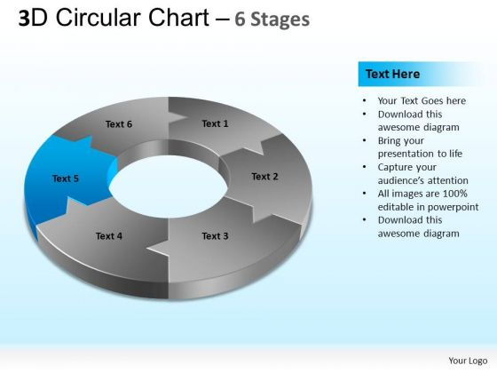 PowerPoint Slide Designs Leadership Circular Chart Ppt Theme