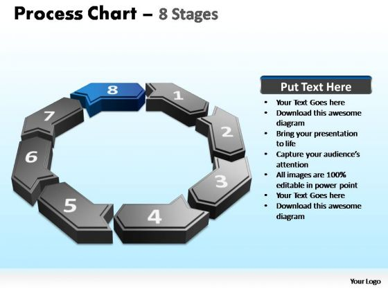 PowerPoint Slide Designs Leadership Process Chart Ppt Presentation