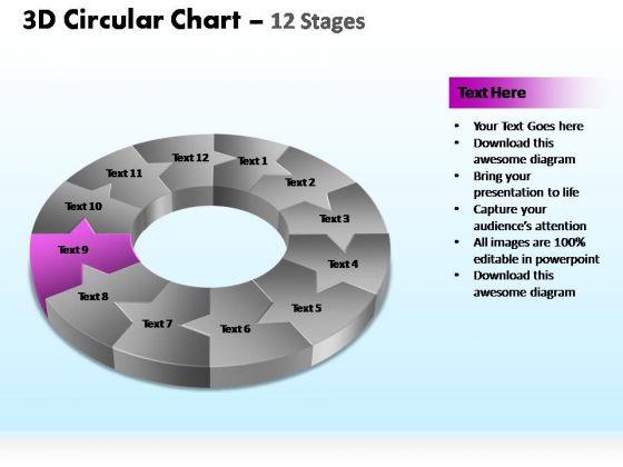 PowerPoint Slide Designs Marketing Circular Ppt Designs