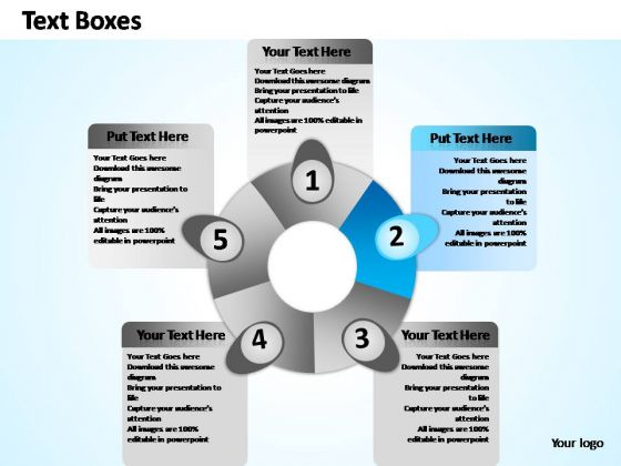 PowerPoint Slide Designs Marketing Five Activity Ppt Templates