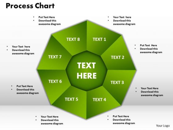 PowerPoint Slide Designs Process Chart Company Ppt Slides