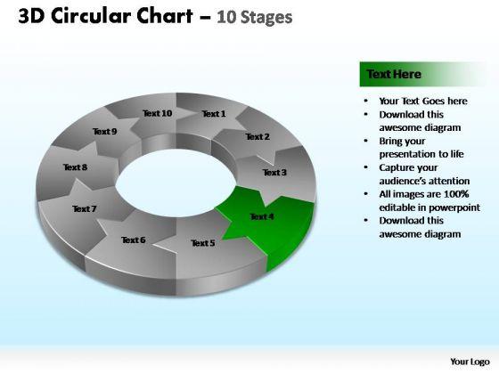 PowerPoint Slide Designs Process Circular Ppt Slides
