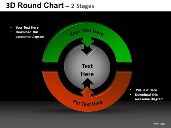 PowerPoint Slide Designs Process Round Chart Ppt Design