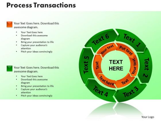 PowerPoint Slide Designs Process Transaction Company Ppt Theme
