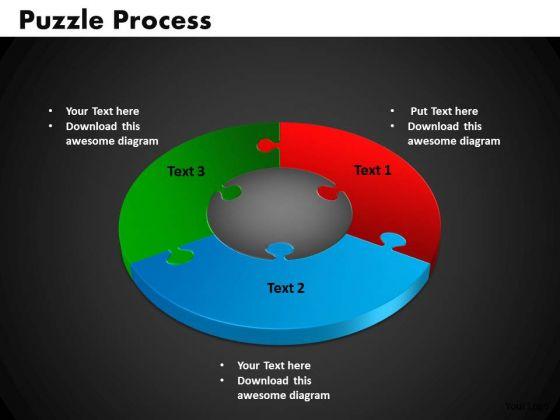 PowerPoint Slide Designs Puzzle Process Finance Ppt Templates