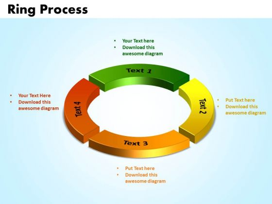 PowerPoint Slide Designs Ring Process Success Ppt Theme