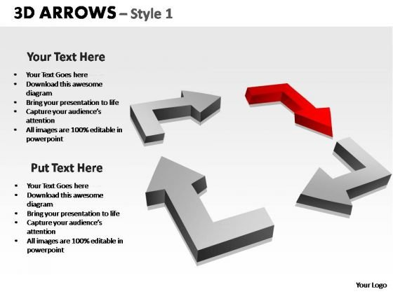 PowerPoint Slide Designs Sales Arrows Ppt Design Slides