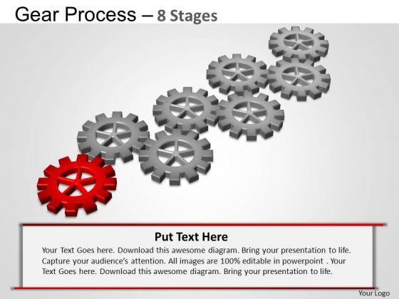 PowerPoint Slide Designs Sales Gears Process Ppt Presentation