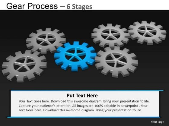 PowerPoint Slide Designs Strategy Gears Process Ppt Designs