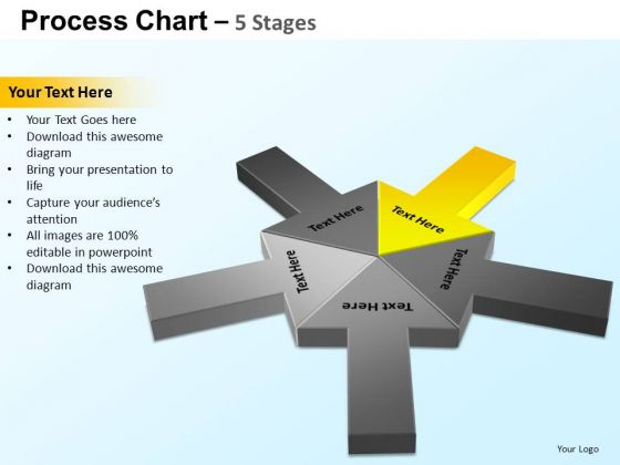 PowerPoint Slide Designs Strategy Process Chart Ppt Presentation