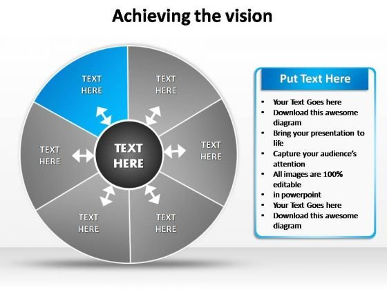 PowerPoint Slide Designs Strategy Vision Ppt Themes