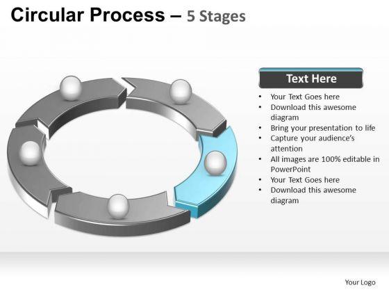 PowerPoint Slide Designs Success Circular Process Ppt Template