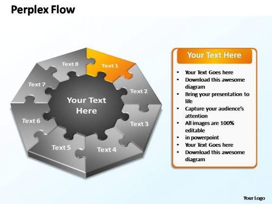PowerPoint Slide Designs Success Perplex Flow Ppt Template
