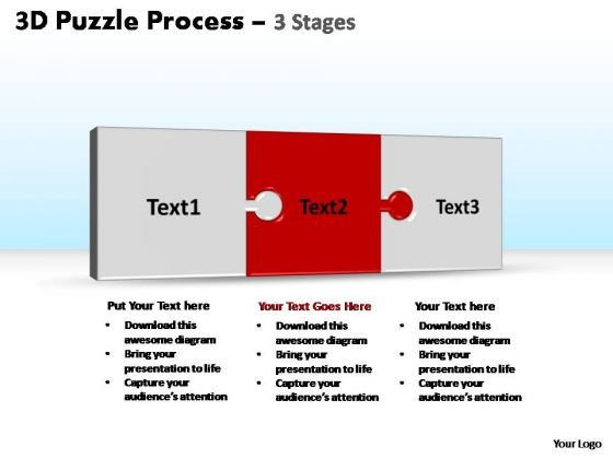 PowerPoint Slide Designs Success Puzzle Ppt Process