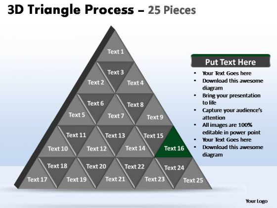PowerPoint Slide Designs Success Triangle Process Ppt Slide Designs