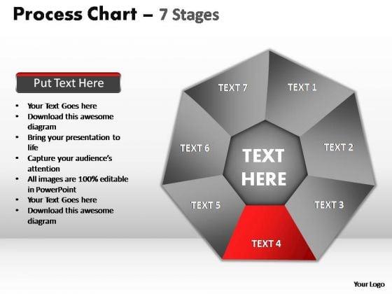 PowerPoint Slide Designs Teamwork Process Chart Ppt Backgrounds