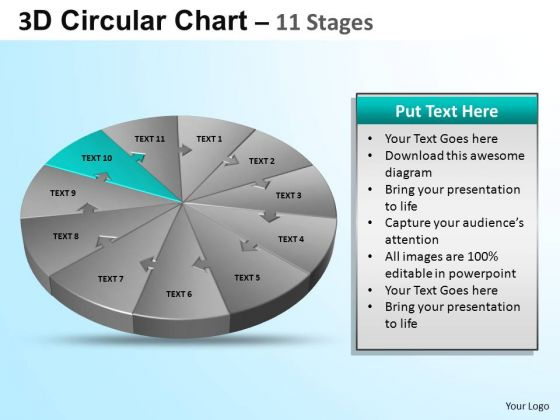 PowerPoint Slide Diagram Circular Ppt Backgrounds